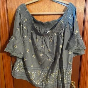 Maurices off the Shoulder Top